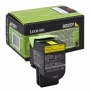 Консуматив Lexmark 802SY Yellow Standard Yield Return Program Toner Cartridge